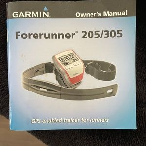 Garmin Forerunner 205/305 GPS trainer unisex